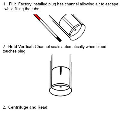 SAFECAP® Self Sealing Microhematocrit Tubes, Plain, 100pk