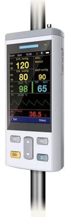 Vital Signs Monitor – Pulse Oximeter (SpO2) + Blood Pressure (NIBP) +  Capnography (ETCO2)